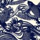 Katagami-Druck aus der Collection der Red Rooster Fabrics.