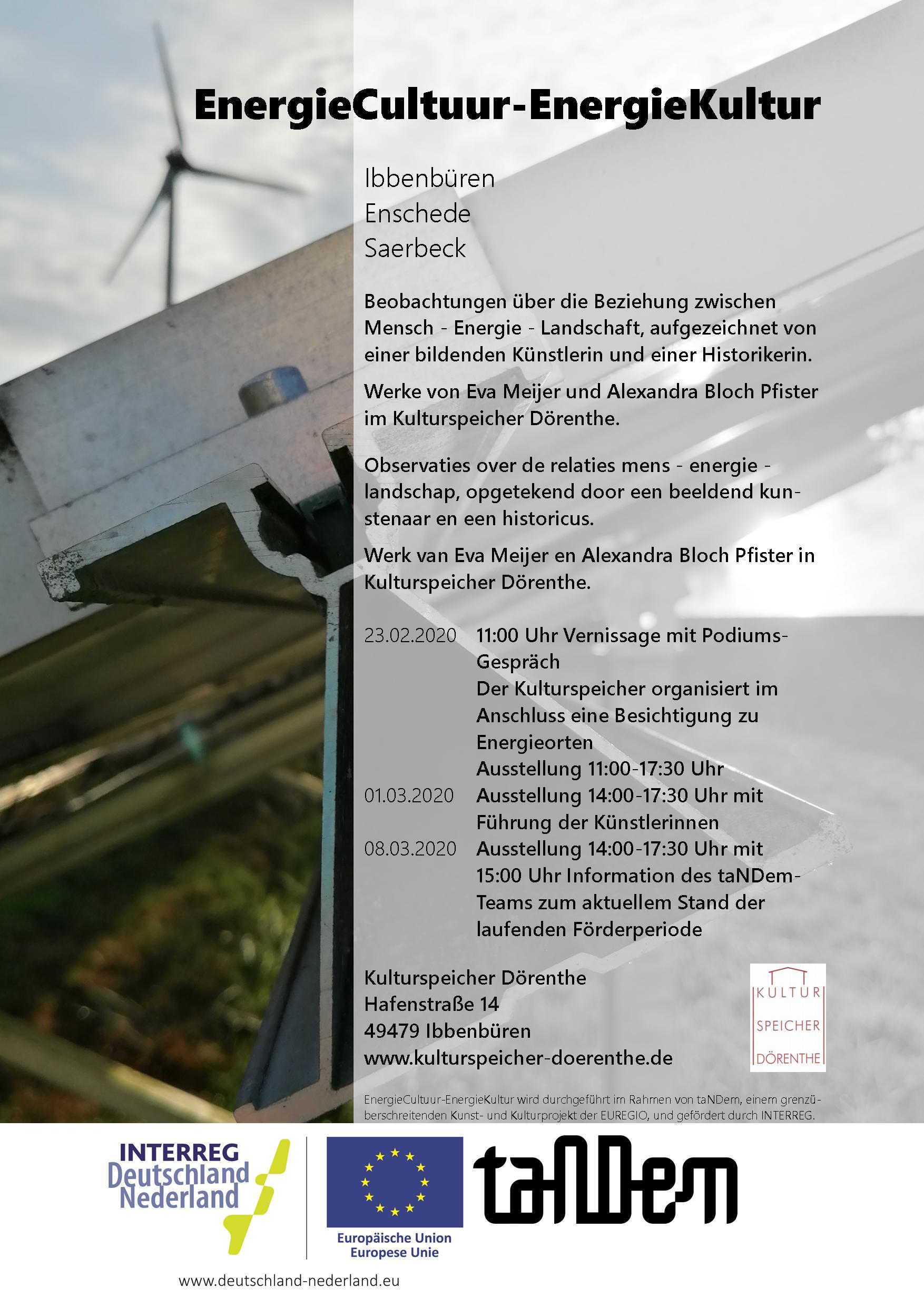 Ausstellung energieCultuur-EnergieKultur