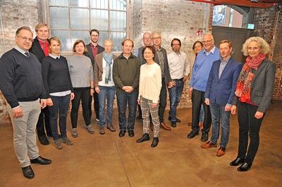 Team Stadtgeschichte Bocholt 2022